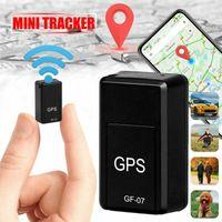 trackers fahrzeuge groihandel-Mini GF-07 GPS lange Standby-Magnet mit SOS-Ortungsgerät Locator für Fahrzeug Auto Person Pet Location Tracker-System