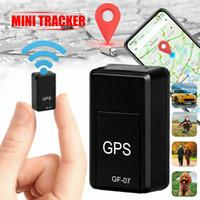 araba için mini gps toptan satış-Mini GF-07 GPS Uzun Bekleme SOS Ile Manyetik Takip Cihazı Bulucu Ile Araç Araba Kişi Için Pet Konumu Izci Sistemi