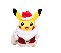 Wholesale valentine stuff toys for sale - Group buy 25cm inches Christmas Pikachu with Xmas Costume Lovely Plush Toy Baby Kids Children Christmas Gift Stuffed dolls LA215