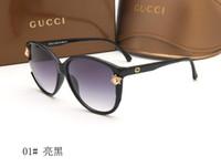 ünlü güneş gözlüğü erkekleri toptan satış-Yeni İtalya ünlü güneş gözlüğü ile erkekler kadınlar için popüler moda polarize güneş gözlüğü erkek kadın gölge gözlük