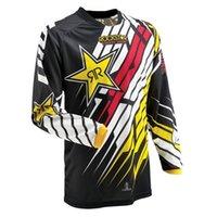 bisiklet haçı toptan satış-En ucuz Erkekler Motocross MX forması Dağ Bisikleti DH Giysi Bisiklet Bisiklet MTB BMX Jersey Motosiklet Kros gömlek
