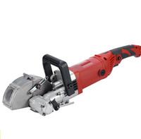 outils de bétonnage achat en gros de-2019 Nouveau dans la découpeuse de rainure d'outil électrique de coupeur de chasseur de mur pour le mur entaillant le béton en acier