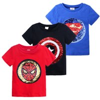 Wholesale baby girl tee pattern for sale - Group buy Children Boys T Shirt Baby Cotton Clothing Summer T shirt Kids Cartoon Change Pattern Girl Tee Year