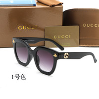 Wholesale ms sunglasses resale online - New Brand Designer Sunglasses Fashion Classic Round Cat Eye Sunglasses Retro Style Outdoor Male Ms Driving Sunglasses