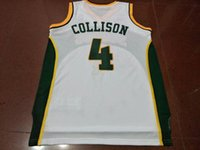 Wholesale authentic college basketball jerseys resale online - Men Nick Collison jersey AUTHENTIC college Vintage jersey Size S XXXL or custom any name or number jersey