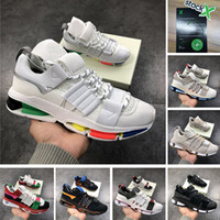 Wholesale sole stock resale online - With Stock X Top Quality Consortium Twinstrike ADV Shoes Rainbow Sole White Running Shoes Luxury Designer Black Grey Woman Sneakers trainers