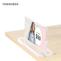 акриловый держатель дисплея меню оптовых-Подставка для стола для настольного меню Настольный рекламный плакат Дисплей Акриловая этикетка Рамка для меню Многоразовые держатели для этикеток