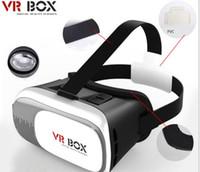 smartphone android 3,5 zoll großhandel-VR Box 2.0 + Gamepad Virtual Reality 3D Brillenhelm VR BOX Headset für Smartphone 3,5 Zoll ~ 6 Zoll mit Kleinpaket