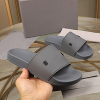 Wholesale metal casual shoes resale online - Women Men Casual Slippers Sandals Fashion Leather Flip Flops Metal Chains Summer Beach Slippers Shoes Size Eur35