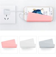 iphone halter für wand großhandel-Universal Wall Stand Mount Handyhalter Handy für iPhone Samsung Pad Huawei LG Tablet Universal Bequem