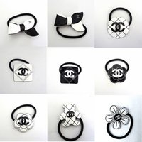 Wholesale brand lovely jewelry for sale - Group buy Flower Designer Hair Rope Lovely Brand Hair Rubber Girls Women Fashion Hair Rubber Bands Elegant Jewelry Hot Sale