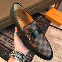 erkekler sığ ayakkabıları toptan satış-Yeni Fransız erkek rahat ayakkabılar yüksek kalite düşük yardımcı olmak için sığ ağız deri seyahat rahat erkek yürüyüş ayakkabı ücretsiz kargo 40-45 boyutu
