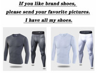 erkek fleece setleri toptan satış-Erkek taktik polar termal iç çamaşırı ter hızlı kuruyan termo iç çamaşırı erkek nefes elastikiyet Paçalı Don pantolon set ...