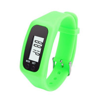 Wholesale electronic walking resale online - Electronic Digital Bracelet Pedometers LCD Run Step Pedometer Portable Walking Calorie Distance Counter Sport Fitness Watch