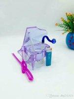 klavierzubehör großhandel-Kristallklavier-Huka Bongs Zubehör enthält keine Elektronik, Glas Rauchpfeifen bunte Mini Multifarben Handpfeifen Beste Spo