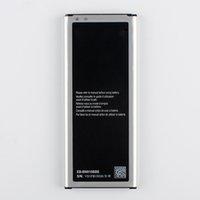 original galaxy note batterie großhandel-Original Akku für Samsung Galaxy Note4 N910i N910V N910C HINWEIS 4 N910u N910F N910H EB-BN910BBE EB-BN910BBK NFC 3220mAh