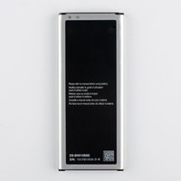 batarya eb toptan satış-Samsung Galaxy NOTE4 Için orijinal Pil N910a N910V N910C NOT 4 N910u N910F N910H EB-BN910BBE EB-BN910BBK NFC 3220mA