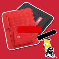 Wholesale dvd cases storage resale online - New High grade Car Sun Visor Storage Bag Notes Pouch CD Receive Bag Bill folder DVD Disk Card Visor Case Folder Pocket