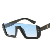 Wholesale riding cycling glasses resale online - Fashion Half Frame Sunglasses Outdoor Driving Eyeglasses Sports Bike Shades Cycling Riding Square Glass Eye Wear Gifts TTA1330
