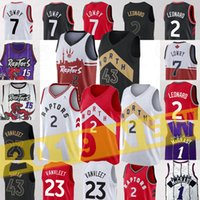 patchs de maillots de basket achat en gros de-2 Leonard Maillots 2 Kawhi Jersey NCAA 7 LOWRY 15 Carter basket Jersey Camby 21 Fred Fred 23 VanVleet collège 2019 Patch
