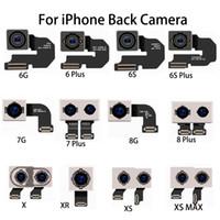 kameraobjektiv reparaturteile großhandel-Für neue iphone 6 s plus 7 8 plus x xs max xr original ersatzteile rückseite kamera objektiv flexkabel modul