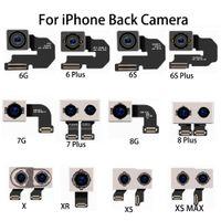 lens esnek kablo toptan satış-Yeni iPhone 6 S artı 7 8 Artı X XS max XR orijinal Onarım Parçaları Arka Arka Kamera Lens Flex Kablo Modülü