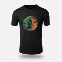 flecha verde t shirts al por mayor-The Flash Green Arrow Negro Camisetas para hombre Talla S-3XL Camisetas