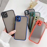 Wholesale tablet protection cases resale online - Suitable for Apple mobile phone case eye protection color contrast frosted apple protection shell mobile phone case eye protection anti