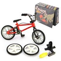 Simulation Mini Alloy Finger Bike Bicycle Model Flick Desk Toy
