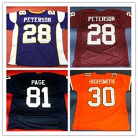 Wholesale fighting irish jersey for sale - Group buy CUSTOM ADRIAN PETERSON OKLAHOMA SOONERS JERSEY ALAN PAGE NOTRE DAME FIGHTING IRISH JERSEY ALONZO stitched football jersey