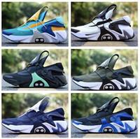 erkek kemeri ayakkabıları toptan satış-Moda otomatik çemberleme gündelik eğitmenler çevrimiçi erkekler çizme Eğitim Sneakers yakuda koşu ayakkabıları atletik iyi spor huarach Uyum