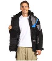 jaqueta de esqui amarelo venda por atacado-2019 jaquetas dos homens do desenhista inverno quente algodão homens de esqui íngremes agência tecnologia de inverno jaqueta hoodies dos homens de rosto Blue Jackets amarelo S-XXL