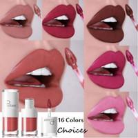 barra de labios de gama alta al por mayor-Pudaier New White Tube High End Brillo de labios Lip Tint Cosmetic Lipstick Lipgloss Pigment Sexy Mate Liquid Lipstick Maquillaje Nude