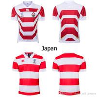 ternos do japão venda por atacado-Top qualidade 19 20 Japão Jersey rugby jerseys training training Jerseys suit 2019 2020 Japan World Cup Rugby jersey sweat shirt S-3XL