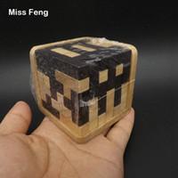 yığın oyunu toptan satış-B105 / 54 adet T Blok İstifleme Oyunları Ahşap Oyuncak Çocuk Eğitim Erken Öğrenme