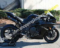 Wholesale sportbike bodywork resale online - For Yamaha YZF1000 YZF R1 YZFR1 YZF R1 Sportbike ABS Bodywork Fairing Aftermarket Kit Black Injection molding