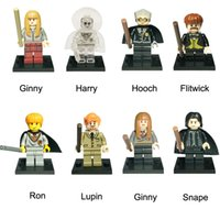 ingrosso le figure delle ossa-Mini Harry Potter Figura Remus John Lupin Ron Weasley Trolley Strega Malfoy Susan Bones Mini Action Figure Toy Building Block Mattoni
