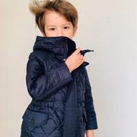 ingrosso giacca imbottita invernale della neonata-Presell! NAVE Settembre Neonate Ragazzi Giacche invernali Bambini Ispessimento Cappotto imbottito Bambino Capispalla Abbigliamento Bambini Giacche calde