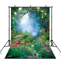 Wholesale backgrounds for portrait photography for sale - fairy tale night Vinyl portrait photography background for children baby shower new born backdrop photocall photo studio