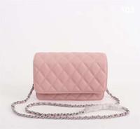 sac à main en cuir de marque achat en gros de-Sac à bandoulière en cuir véritable rhombique en cuir véritable