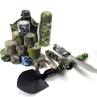 Tattoo Accesories 25mm Grip Wrap Elastic Camouflage Bandage Handle Tube Disposable Nonwoven Self Adherent Tattoo Supplies 24 rolls