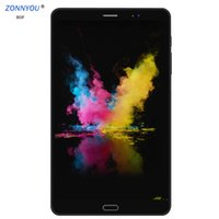 Wholesale 4g lte tablet pc android resale online - New inch G Phone Call Tablets Android Octa Core G G Tablet G G LTE Dual SIM Card laptop WiFi GPS Bluetooth tab PC