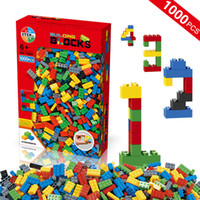 Wholesale 1000pcs Building Blocks Kids DIY Creative Bricks Children Model Building Blocks Toys Education Toys