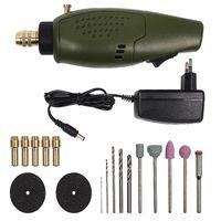 Wholesale dremel mini grinder resale online - Dremel Drill Tooth Grinder Electric Mini Set V DC Dremel Accessories for Milling Polishing Etching Drilling Tool