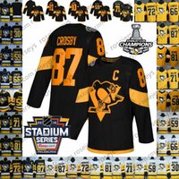 Wholesale penguins stadium series jersey resale online - NHL Stadium Series Pittsburgh Penguins Jersey Sidney Crosby Evgeni Malkin Phil Kessel Kris Letang Lemieux Murray Guentzel Hornqvist