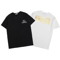 neu gedruckte t-shirts großhandel-Designer T-Shirts für Männer Sommer Neue Ankunft Mode Brief Gedruckt Tops T Männer Luxus Rundhalsausschnitt Hochwertige T-Shirts Herren Casual T-shirts