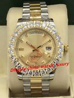 наручные часы оптовых-11 цвет роскошные мужские часы высокое качество 2813 автоматическое движение большой алмаз часы дата дисплей циферблат 41 мм сапфировое зеркало мужская watc