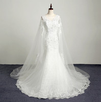 Wholesale sexy wedding dresses fish tail resale online - Sexy Backless Mermaid Wedding Dresses Lace Appliques Bohemian Long Fish Tail Bridal Gowns Vintage Beach Bride Dress