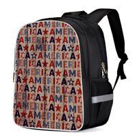 sacs d'école américains achat en gros de-Drapeau américain, sacs à dos polyvalents, sacs à dos, sacs à dos, livres d'école, sacs d'école, sacs à dos d'affaires, sac à dos, sac pour ordinateur, sac à dos, égratignure