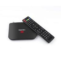 Wholesale m8s plus tv box resale online - New arrival android TV BOX M8S PLUS S2 DVB S905X2 Quad core GB GB GWIFI DVB T2 S2 set top box bb